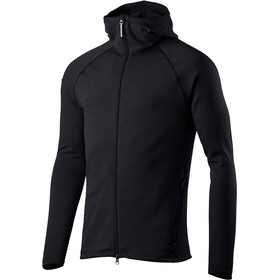 Houdini Outright Houdi Fleece Jacket Men, rock black